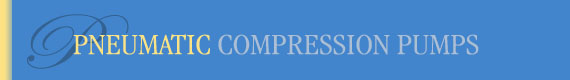 Pneumatic Compression Pumps